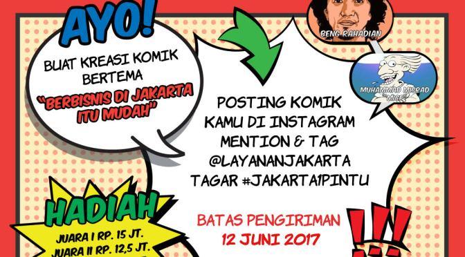 Lomba Komik Jakarta 1 Pintu
