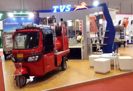 Armada Kargo Tiga Roda Tampil Di Jakarta Fair 2017