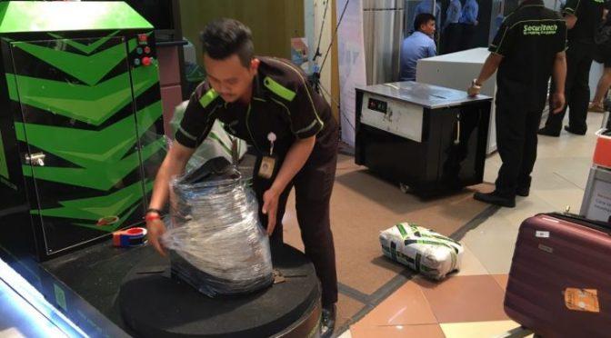 Tarif Wraping Securitech – Pengemasan Barang Di 17 Bandara
