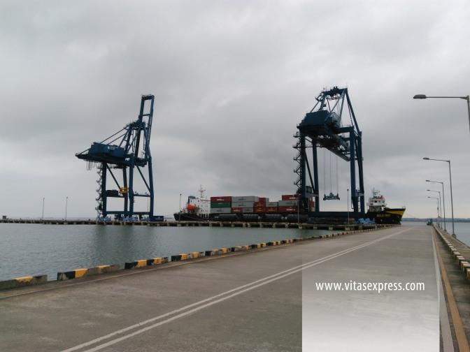 Handling Pelabuhan Kariangau Balikpapan