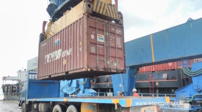 Handling Pelabuhan Palaran Samarinda Kaltim
