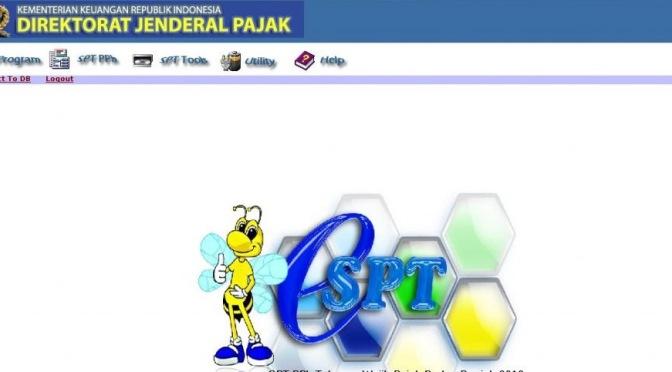 Panduan Install e-SPT PPh 21-26 Terbaru