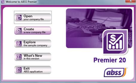 Membuat FIle/Data Perusahaan Baru Pada MYOB ABSS Premier