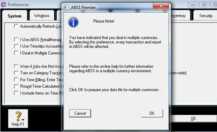 Tahapan Setup Saat Memulai MYOB ABSS Premier